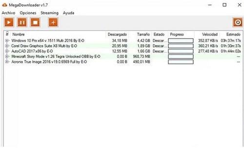▷ Descargar Megadownloader ®【Gestor de Descargas para MEGA】
