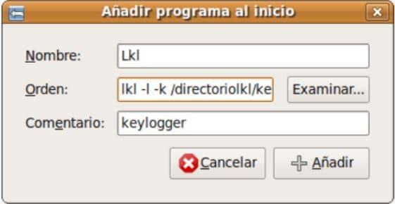 linux keylogger