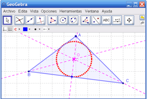 construir triangulo
