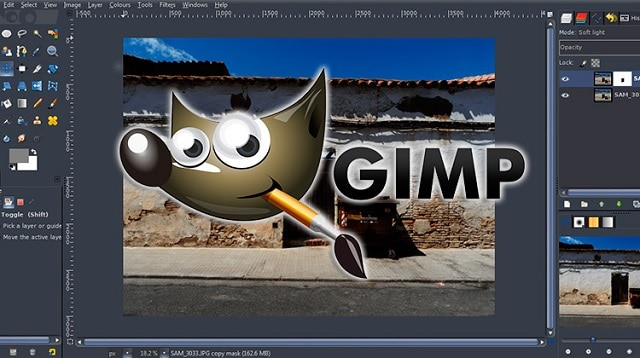 Descargar GIMP, programa gratuito de diseño gráfico