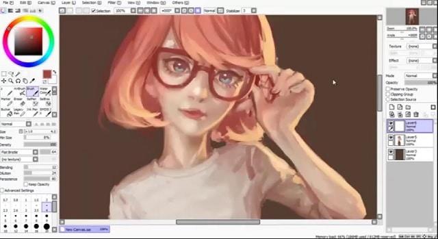 Descargar Paint Tool SAI, la herramienta de dibujo