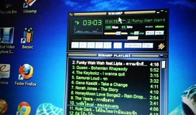 Descargar Winamp gratis para reproducir música