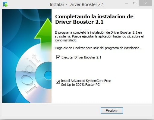 instalar driver booster