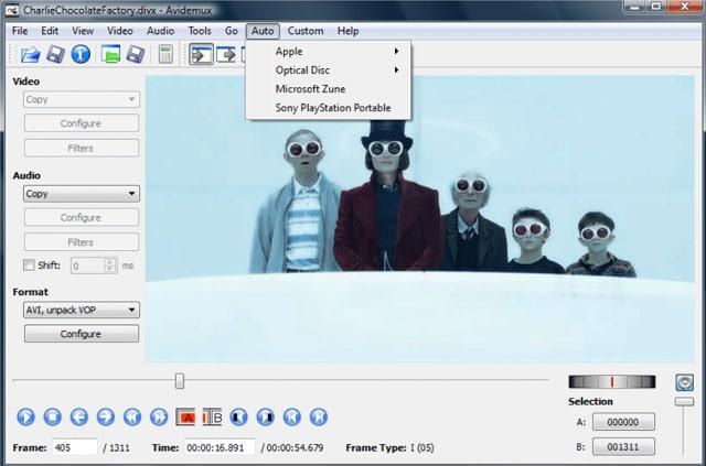 Descargar Avidemux gratis para editar y convertir vídeos