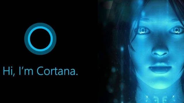 dividir cortana search