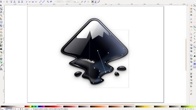 Descargar Inkscape para trabajar con dibujo vectorial