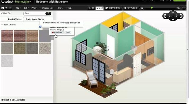 Autodesk Homestyler, Aplicación online para diseñar tu casa