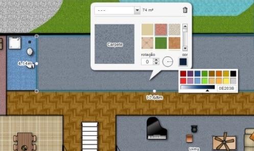 diseño interiores floorplanner