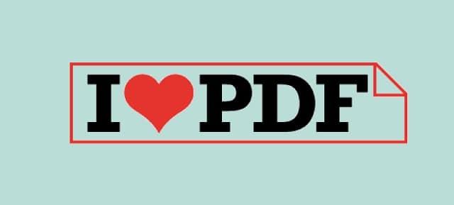 I Love PDF, modifica tus archivos PDF gratis