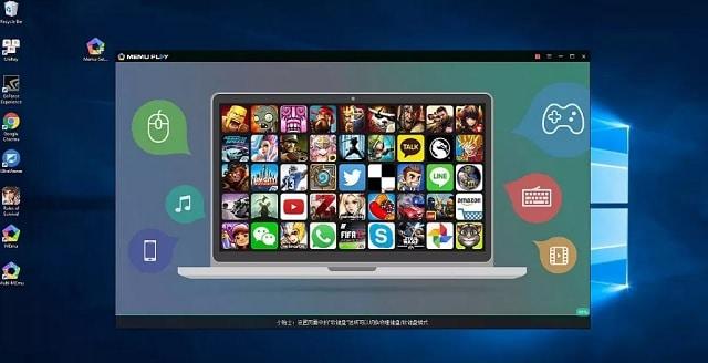 Descargar MEmu, emulador de Android especializado en juegos