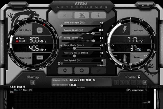 Descargar MSI Afterburner para hacer Overclock