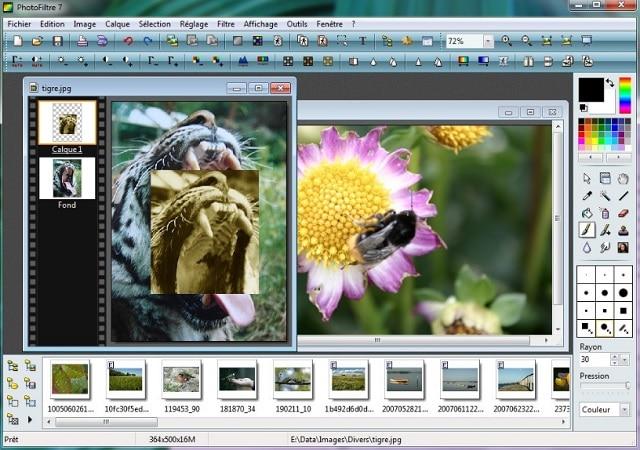Descargar PhotoFiltre para editar imágenes