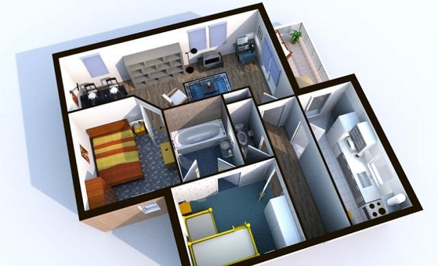 Descargar Sweet Home 3D para diseño de interiores
