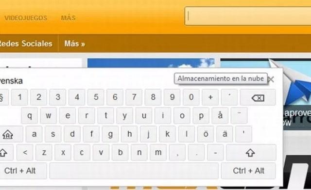 teclado virtual google