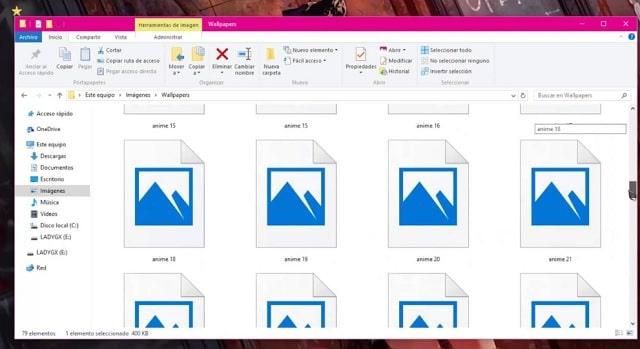 Cómo aumentar el tamaño de las miniaturas de los programas minimizados en Windows 10