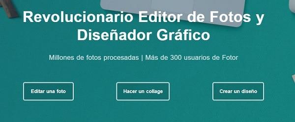 fotor editar online