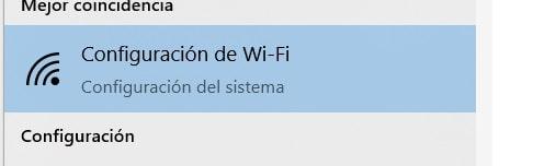 configuracion wifi